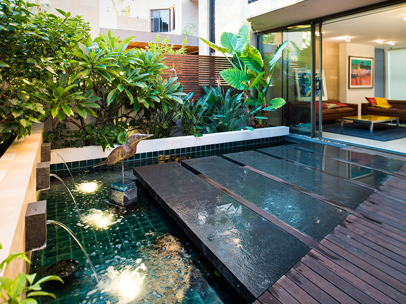 Kings park apartment cultivart landscape design for Apartment landscape design