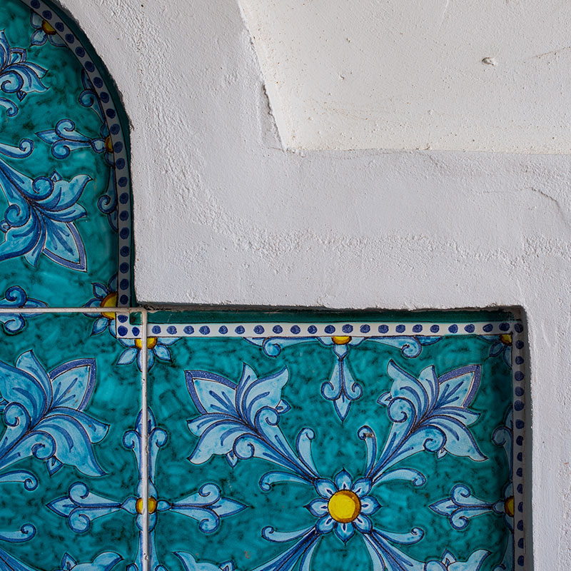 Mediterranean close up design