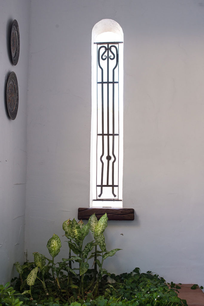 Mediterranean window design