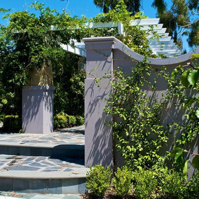 Swanbourne entry courtyard cultivart landscape design for Estate landscape design