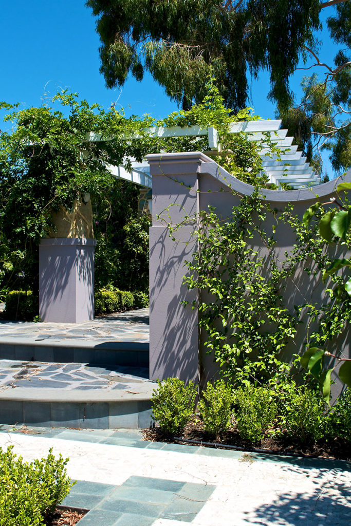 formal landscape design in Brentwood