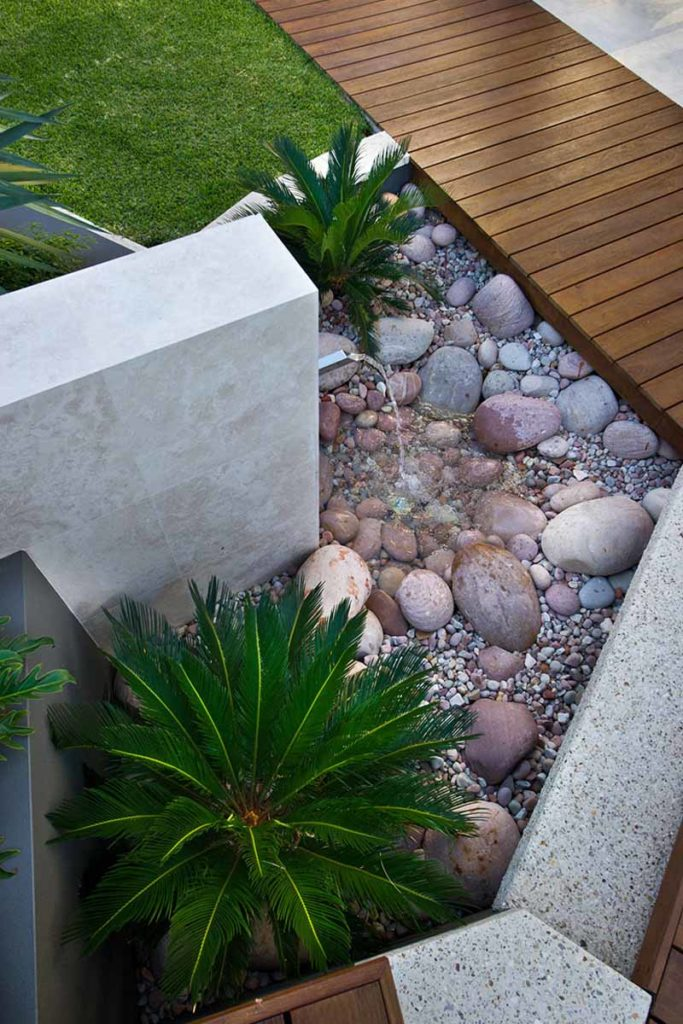 Modern water feature design